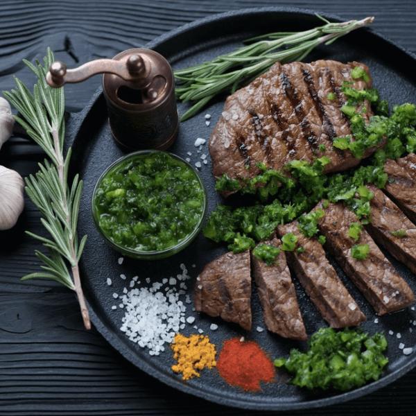 Steak af inderlår