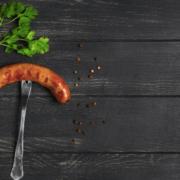 Økologiske Bacon pølser